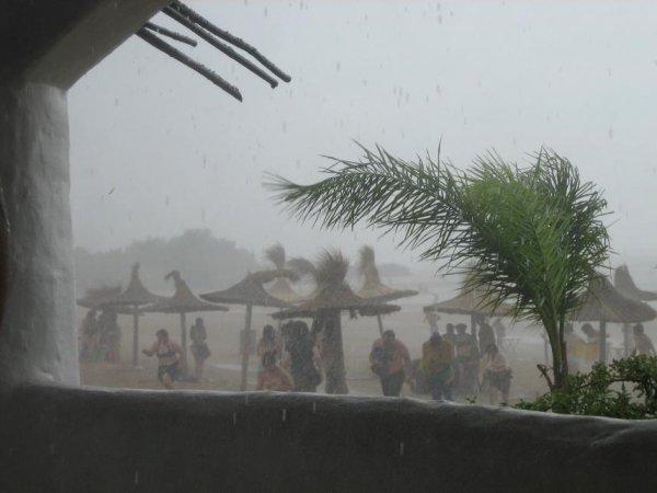 Monsterunwetter am Balneario von Gualeguaychu