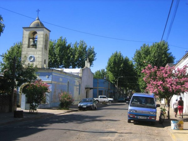 Pauli in San Gregorio de Polanco, an Uruguays schoenem Stausee