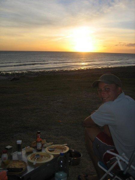 Campen im Nirgendwo, in Uruguay total easy!