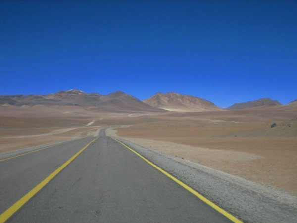 Von Chile nach Argentinien über den Paso de Jama