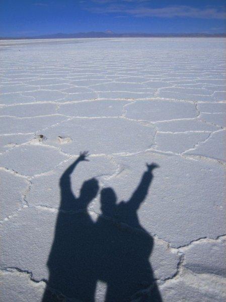 Wenn nicht in der Atacama, dann eben in Argentinien (endlich unser Salzsee)