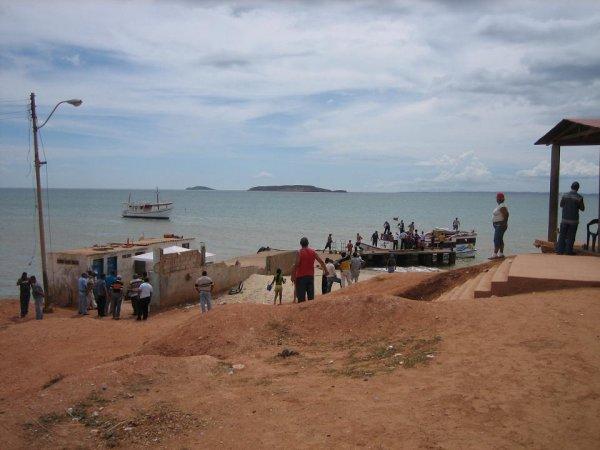 Der Hafen von Chocopata
