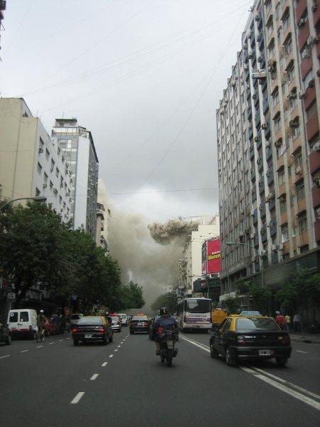 Vulkanausbruch in Buenos Aires??