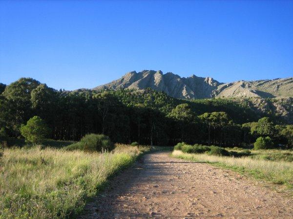 ...in die Sierra de la Ventana