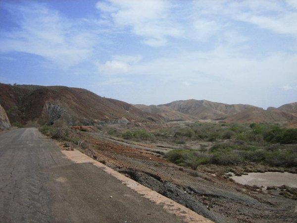 Vom Dschungel auf die wueste Halbinsel Araya