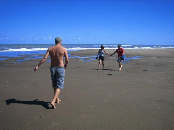 Zum Strand ist es nicht weit