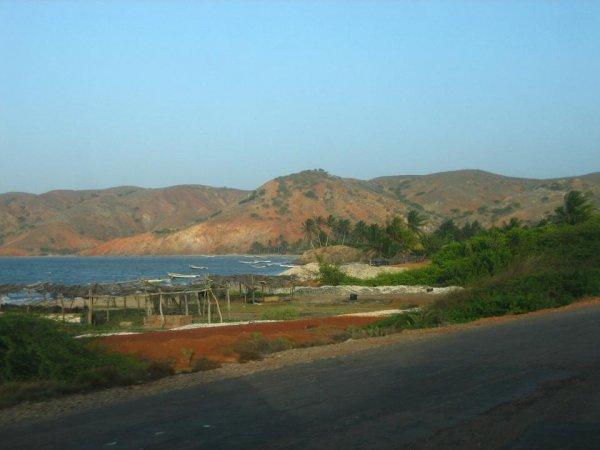 Abschied von der Peninsula Araya
