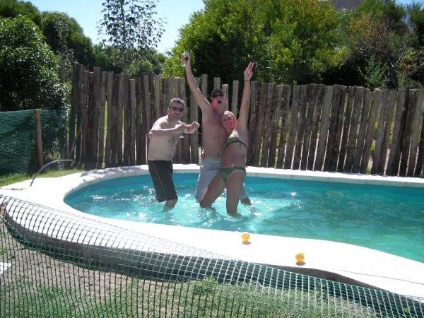 Der Pool war ganz fuer uns alleine!