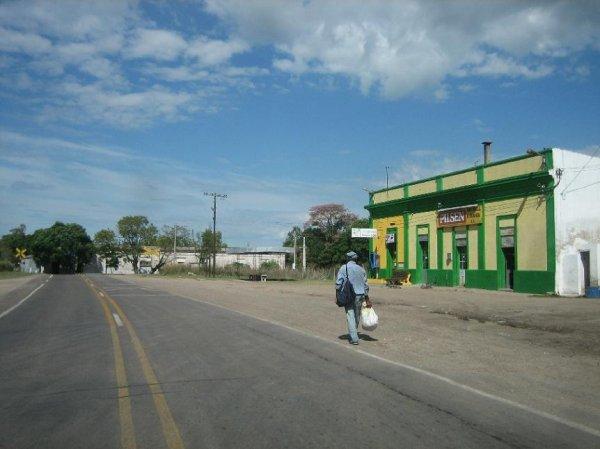 Strassenimpression aus Uruguay