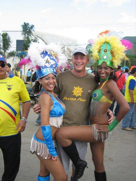 """""""Ich bin fuer Brasilien UND Peru!"""""""