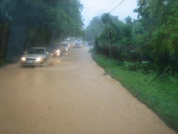 Regenzeit, Ueberflutungszeit in den Tropen!