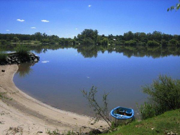 Campingplatz Mercedes, einer der schoensten Uruguays