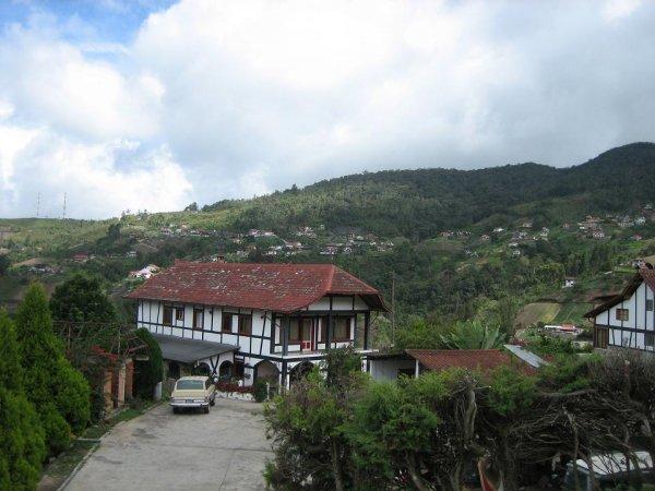 Typisches Straesschen und Haus in Tovar!
