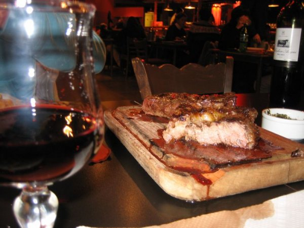 Restaurantbesuch in Argentinien, Obertraum!