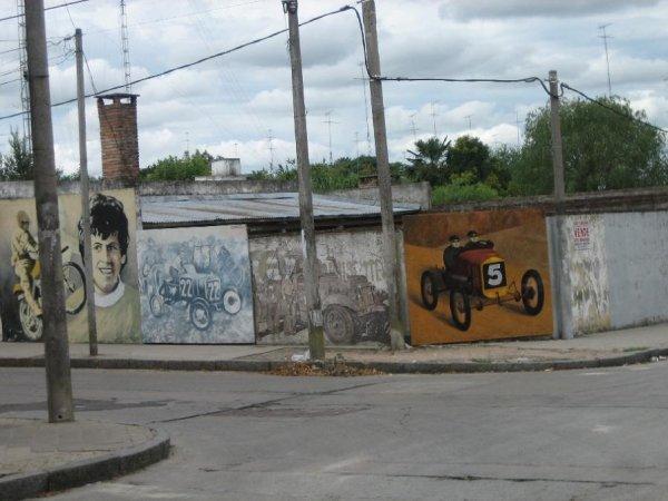 Die Hauswandmalereien von Rosario