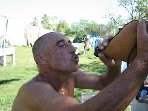 Trinktechnik von Urus!