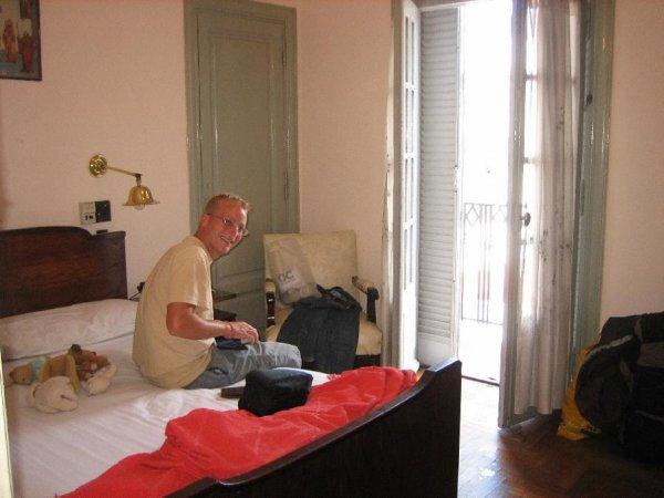 Hotel Espania, fuer unsere letzte Woche Suedamerika