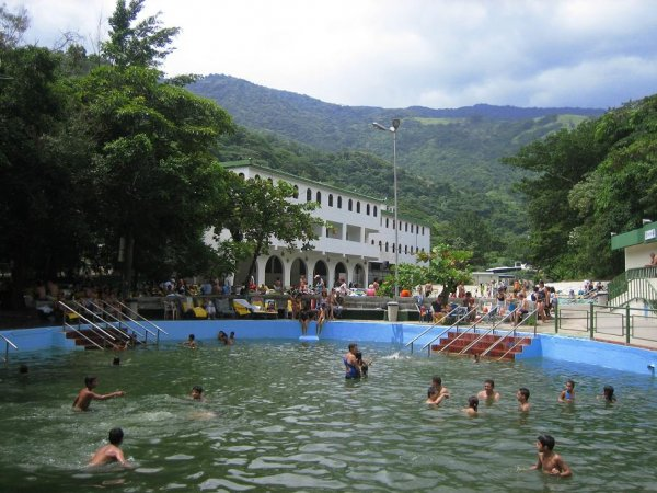 Termas Las Trincheras - bis zu 92° heisses Wasser!