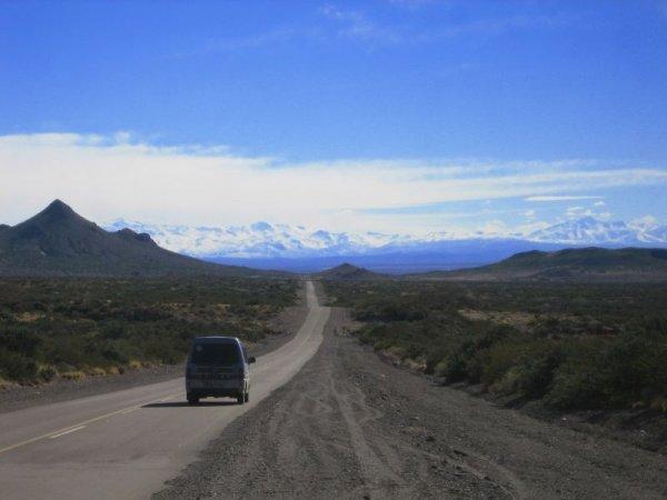 Ruta 40, Richtung Mendoza