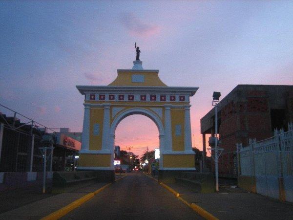 Stadtportal in Coro