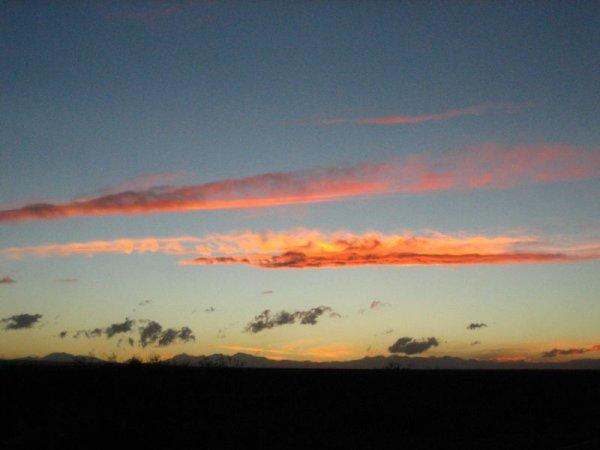 Traumhafter Sonnenuntergang!
