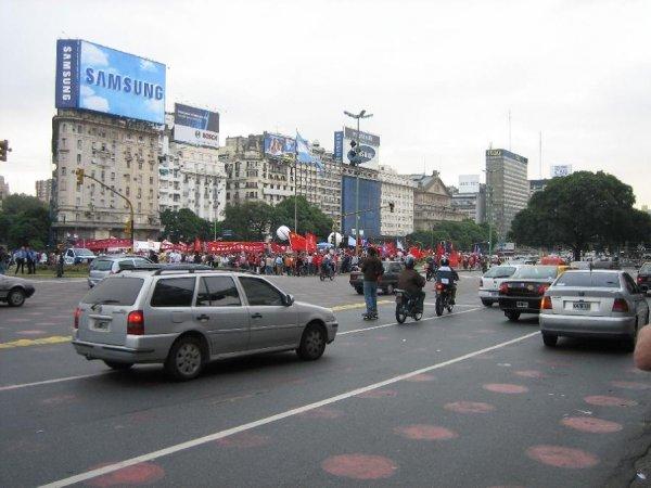 Zur Demo mit jedem Verkehrsmittel