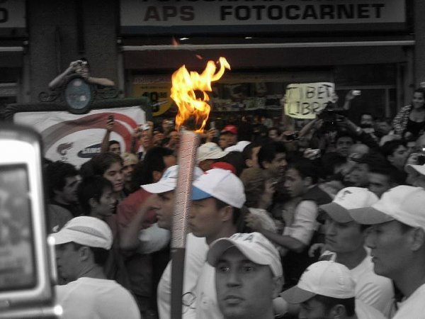 Hautnah am Olympischen Feuer