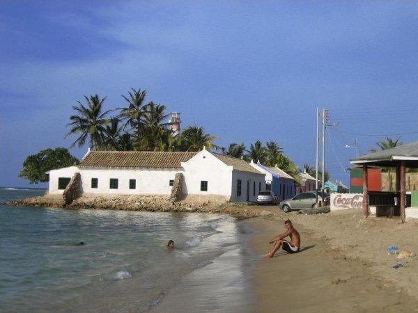 Am Strand von Adicora