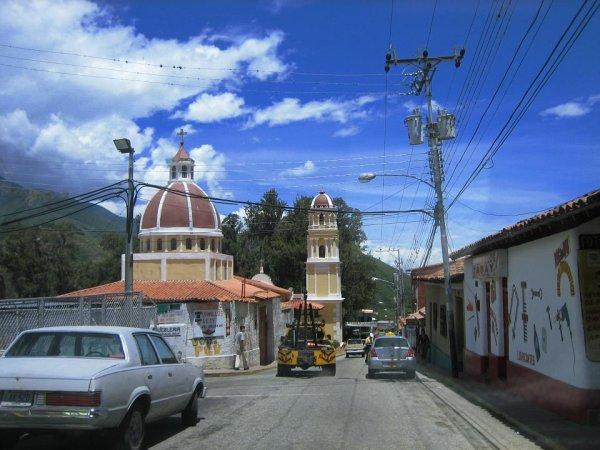 Bergdorf in den venezolanischen Anden