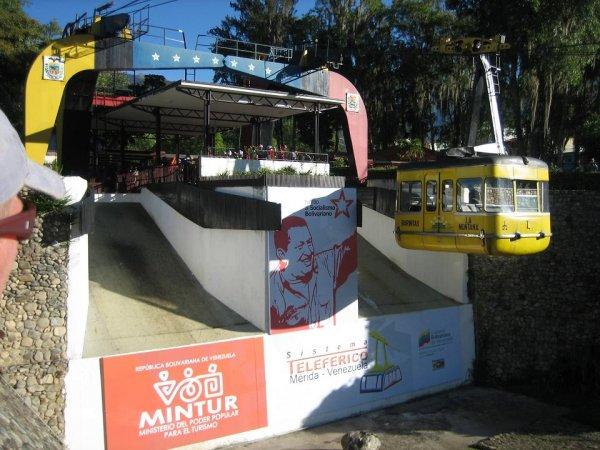 Teleferico - hoechste und laengste Seilbahn der Welt
