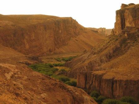 Im Canyon des Rio Pinturas
