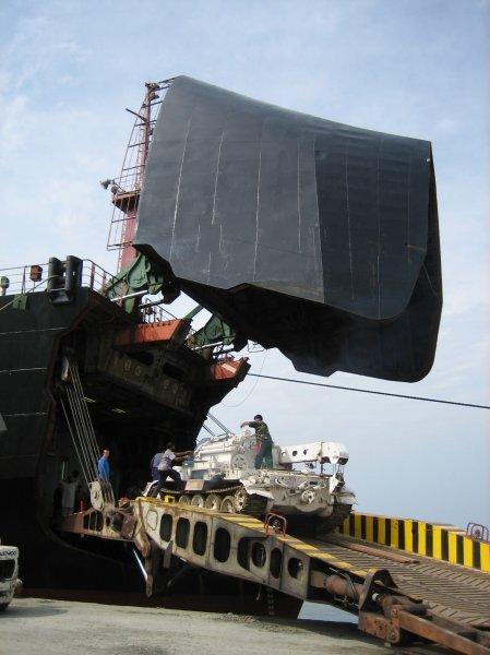 UN Schiff Sierra Leone