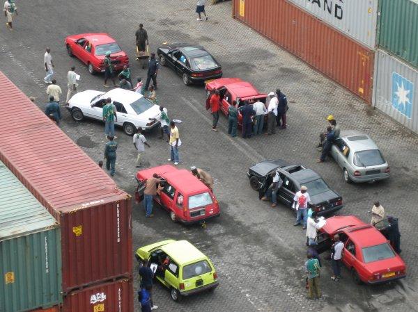 Autohandel in Sierra Leone