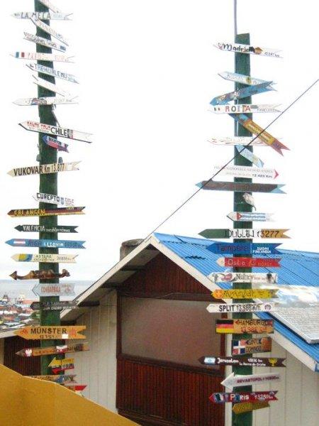 Punta Arenas nach ...