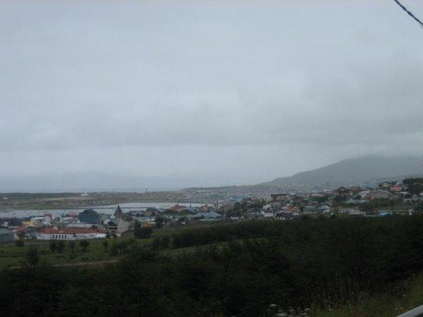 Ushuaia - bei Regen und 5 Grad