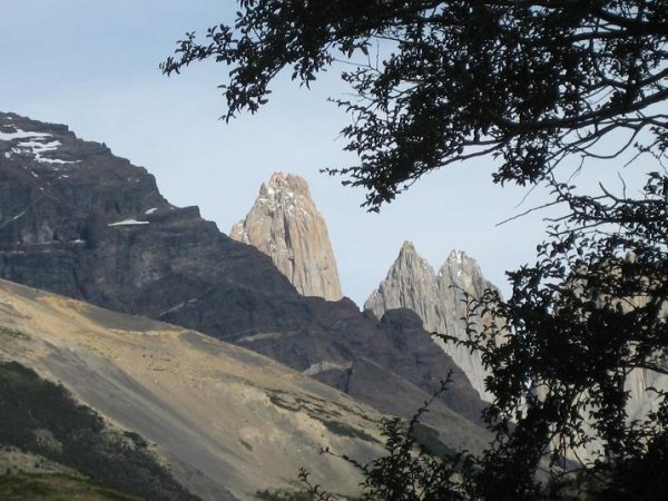 Die Torres bei schoenem Wetter