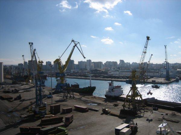 Hafen von Casablanca