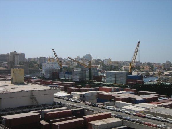 Hafen von Dakar