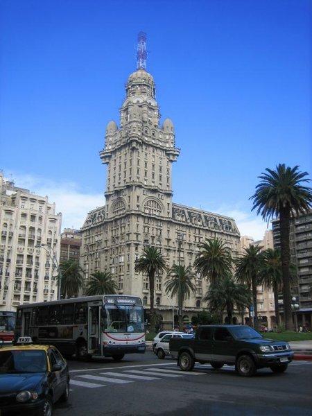 Plaza in Montevideo