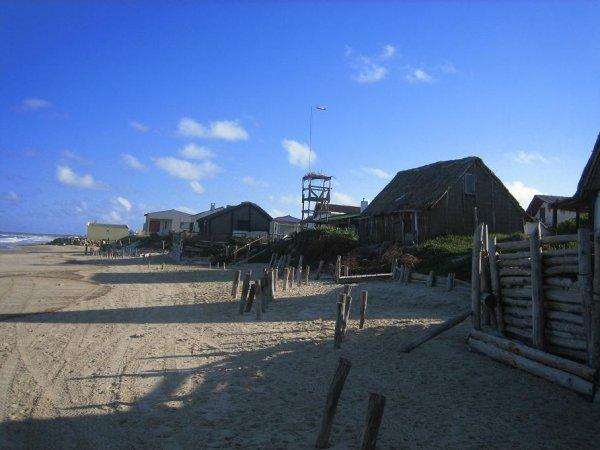 Aqua Dulce - der Strand