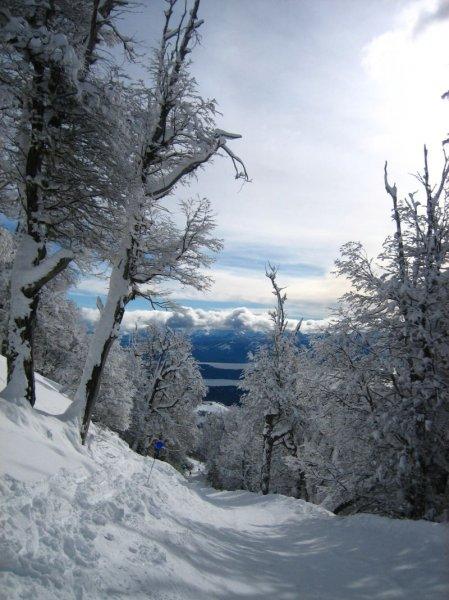Ausblick am ersten Skitag!
