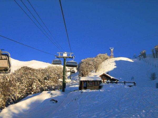 Wenn beim Skifahren, dann aber immer die ersten