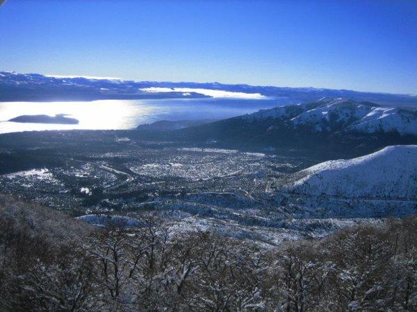 Blick nach Bariloche