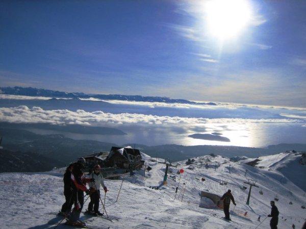 Letzter Skitag in den Anden