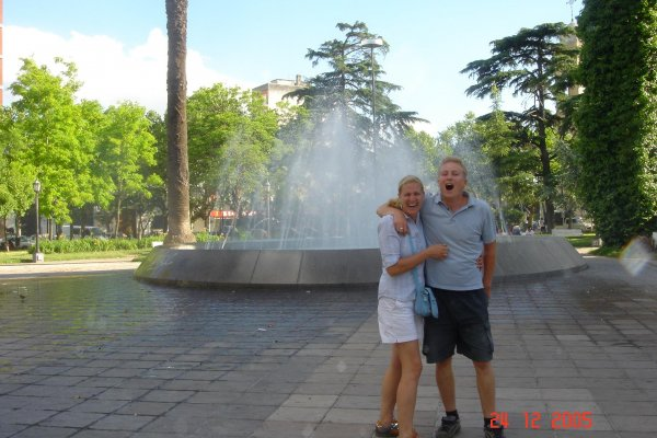 Springbrunnen Zarate