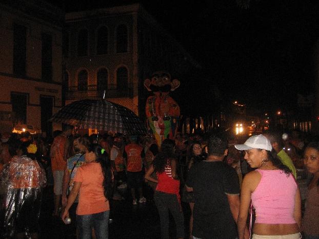 Karneval bei Regen