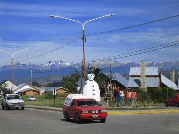 Skiort Esquel - schoene Stadt