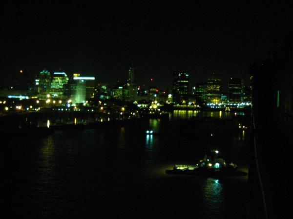 B.A. bei Nacht